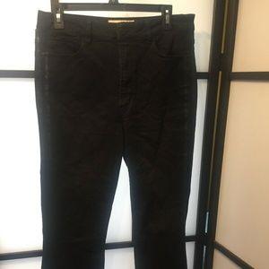 Rachel Roy Denim Black Crop Jeans Size 31 Step Hem